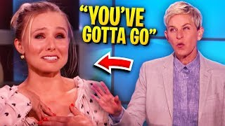 Ellen Gets Furious & ALMOST Kicks Off Guest!