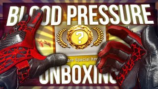 CS:GO NEW BLOOD PRESSURE GLOVES UNBOXING