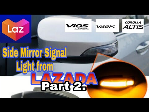 Toyota Side Mirror Light Installation (Part 2)