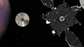 ExoMars 2016 TGO and Schiaparelli approaching Mars