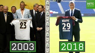 Download Most Expensive Football Transfer EVERY Year (1998-2018) Mp3 and Videos