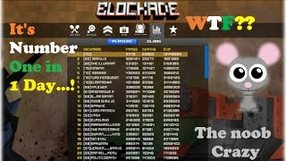 BLOCKADE 3D I lost my TOP 1 again, New Hack Level, Coins, EXP 2017 (Ferb Ayala)