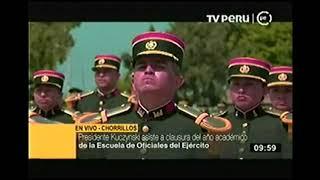PRESIDENTE KUCZYNSKI ASISTE A CLAUSURA DE AÑO ACADÉMICO DE LA EMCH