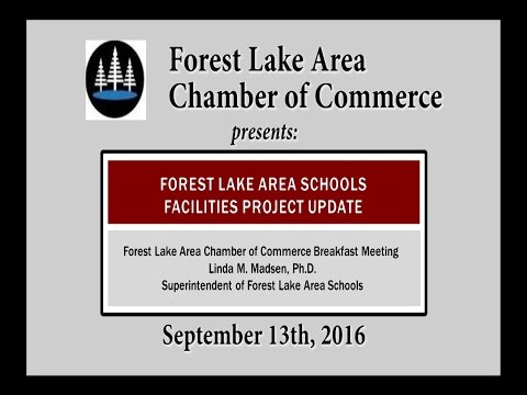 Forest Lake Area Schools Facilities Project Update 9.13.16