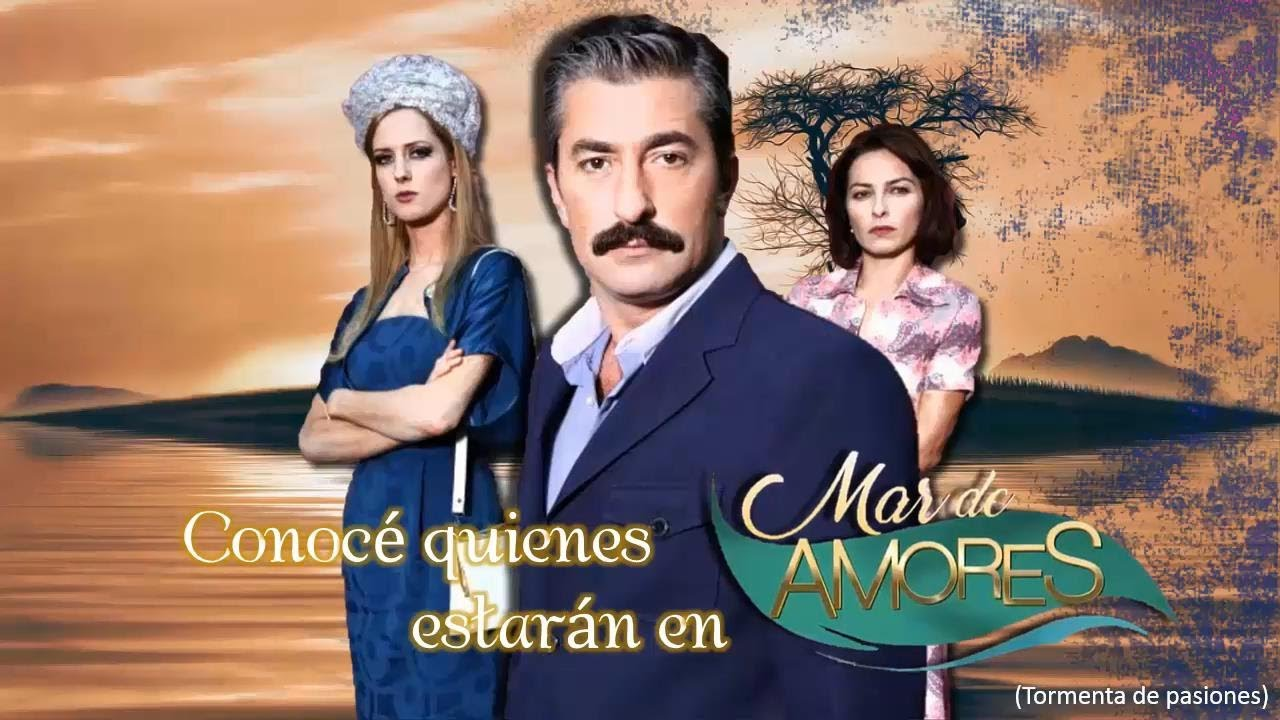 "Elenco de ""Mar de amores"". - YouTube"