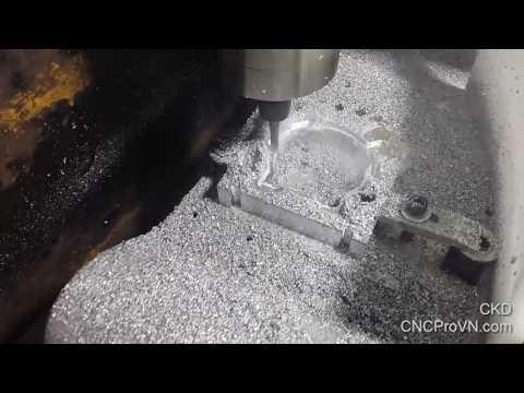 CKD project - DIY spindle mount