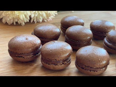 macarons-au-chocolat-maison-recette-facile