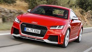 Audi TT RS нового поколения: первый тест