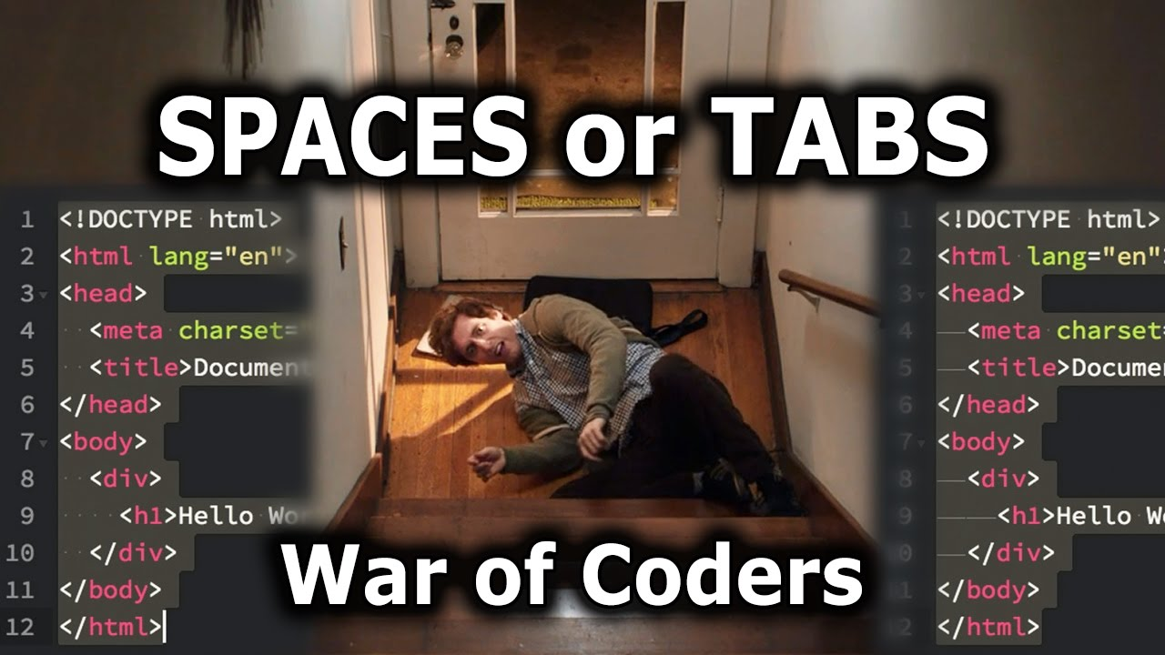 Spaces Or Tabs Silicon Valley Holy War Of Coders Youtube