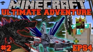 Minecraft: Ultimate Adventure - EPIC FLOATING CASTLE - EPS4 Ep. 2 - Let's Play Modded Survival