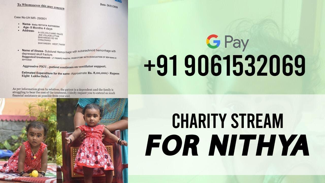 Charity Stream For Nithya  Pubg Kr   Spy Op