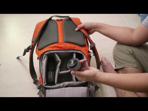 ผลไม้รีวิว:กระเป๋ากล้องขวัญใจนักท่องเที่ยว Lowepro Photo Hatchback 22L AW