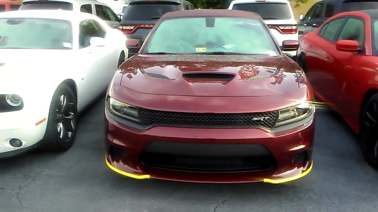 2019 Charger Hellcat >> 2017 SRT Hellcat Octane Red - YouTube