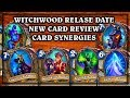 Witchwood Expansion Card Review & Release Date! ~  Dollmaster Dorian Countess Ashmore
