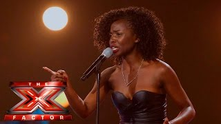 Sharon Rose sings Let It Go | The 6 Chair Challenge | The X Factor UK 2015