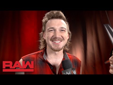 Morgan Wallen looks forward to WWE Tribute to the Troops: Raw Exclusive, Dec. 3, 2018