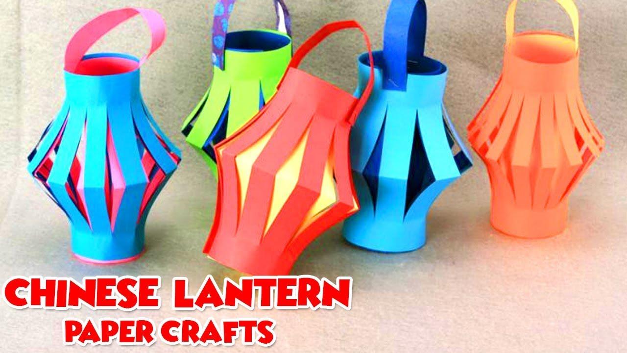 Chinese Lantern Making Videos For Kids Easy Diy Paper Crafts Diy