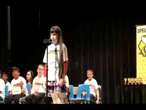 Billerica Spelling Bee 2012, Grade 5