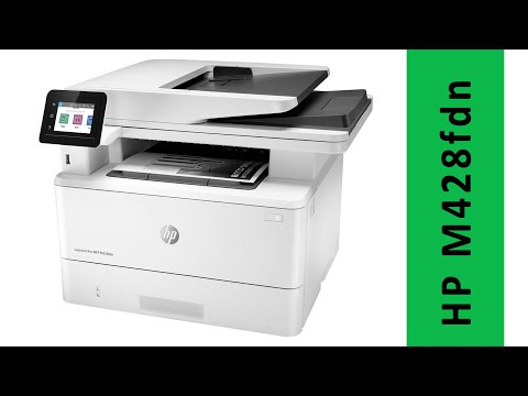 HP M428fdn unboxing and Setup. Best Monochrome Laser Printer for Office 2020 - www.ABCserviss.lv