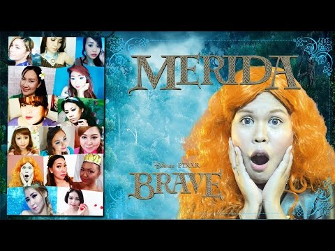 REAL LIFE DISNEY: Brave - Merida Makeup Tutorial | Collaboration