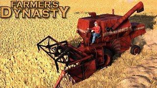 Farmer's Dynasty [BETA] - żniwa pszenicy | #4