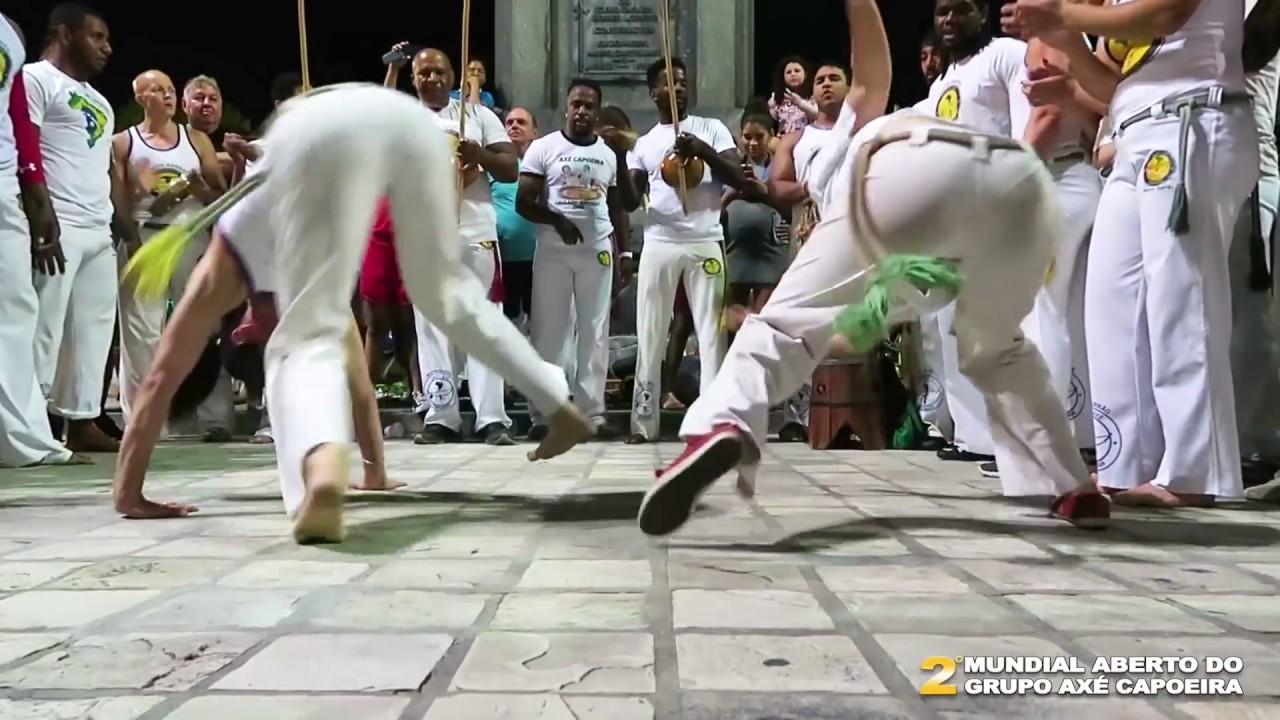 Roda em Recife - Mundial Aberto do Axé Capoeira - 2018