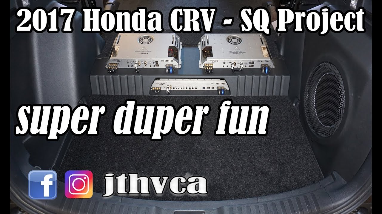 2017 honda crv sq build youtube for Build honda crv 2017