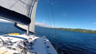 Lagoon 440 - Impi -  part 3 of 3 - Sailing Namena to Savusavu, Fiji