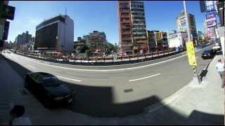 acti kcm 7911 outdoor fisheye camera 180 degree road