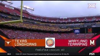 Texas Vs Maryland Football Highlights