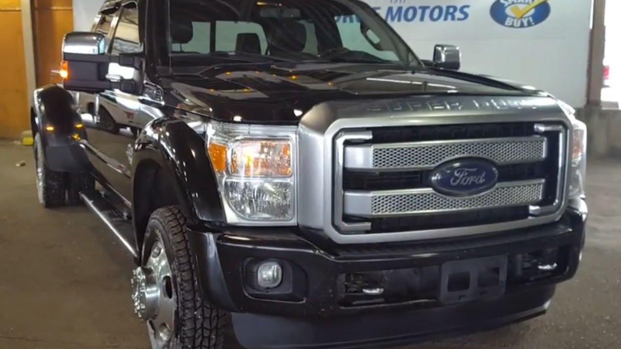 2014 Black Ford Super Duty F 450 Drw 4x4 Platinum Review