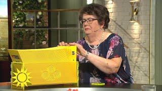 Margareta från Malung skrapade fram fin trissvinst  - Nyhetsmorgon (TV4)