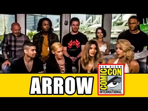 Arrow Season 6 Cast Interview At Comic Con 2017 ! SDCC 2017 ARROW INTERVIEW FULL !