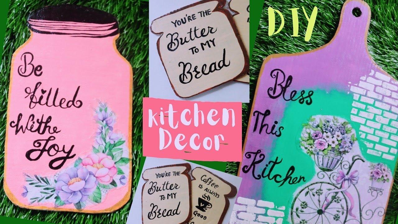 3 Amazing Kitchen Decor Diy S Using Cardboard I Wall Ideas Youtube