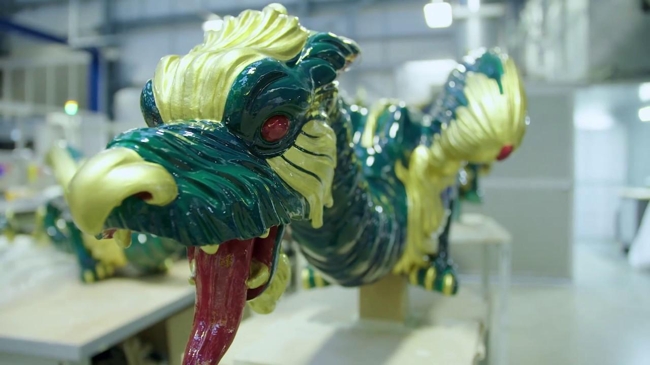 kew pagoda s 3d printed dragons youtube