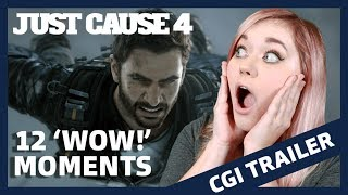 Top 12 WOW Moments - Just Cause 4: Eye of the Storm CGI Trailer