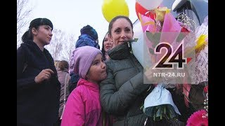 Воспитанников ансамбля «Нардуган» в Нижнекамске встретили овациями