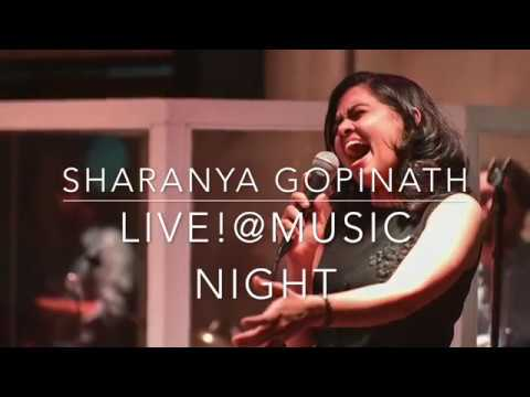 Sharanya Gopinath Live @ Music Night! (Live Gig Footage)