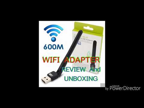 TEREBYTE WI-FI RECEIVER 2.4GHZ 802.11B/G/N  600MBPS2.0 WIFI ADEPTER review and unboxing