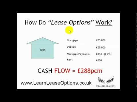 How do Lease Options work in Property?
