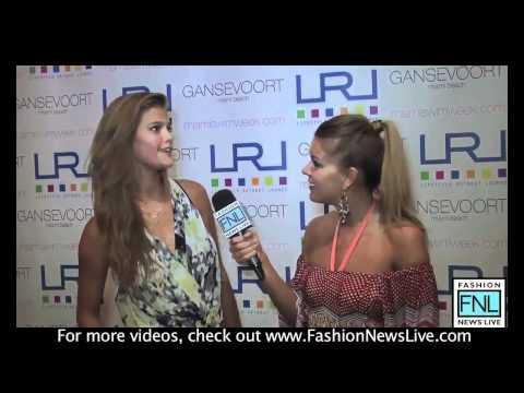 Nina Agdal | Miami Fashion Week SWIM 2012 | Exclusive Celebrity Interview