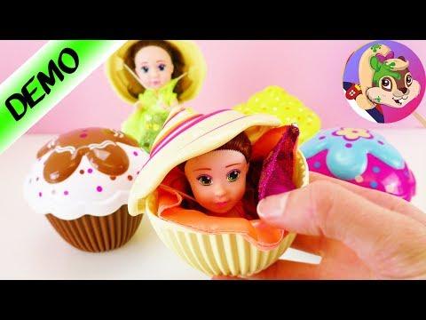 Cupcake Surprise Princess / PONOVO jedna preslatka princeza u kolačiću / 2 u 1
