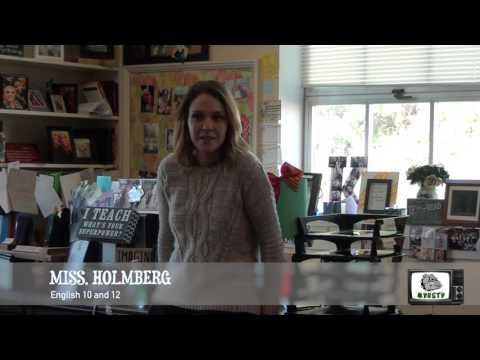 New Teacher/Former MVHS Student - Meet Ms. Holmberg