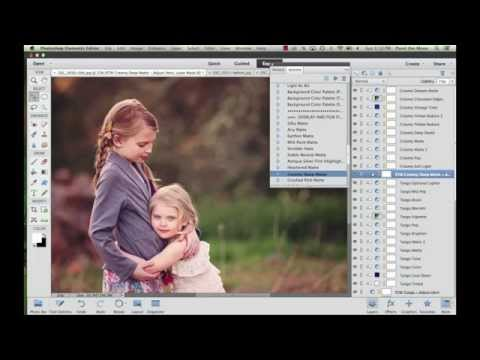 Clean, Vibrant Edit With Creative Color Toning | Grace Collection Photoshop Actions