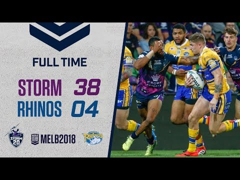 World Club Challenge: Melbourne Storm v Leeds Rhinos 16.02.18