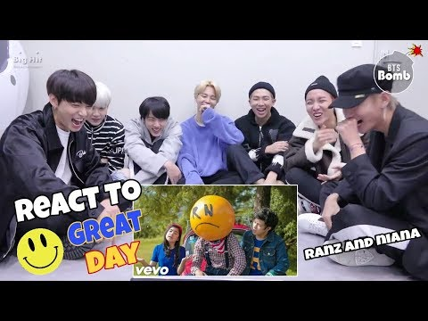 BTS [방탄소년단] Reaction To GREAT DAY MV - RANZ AND NIANA