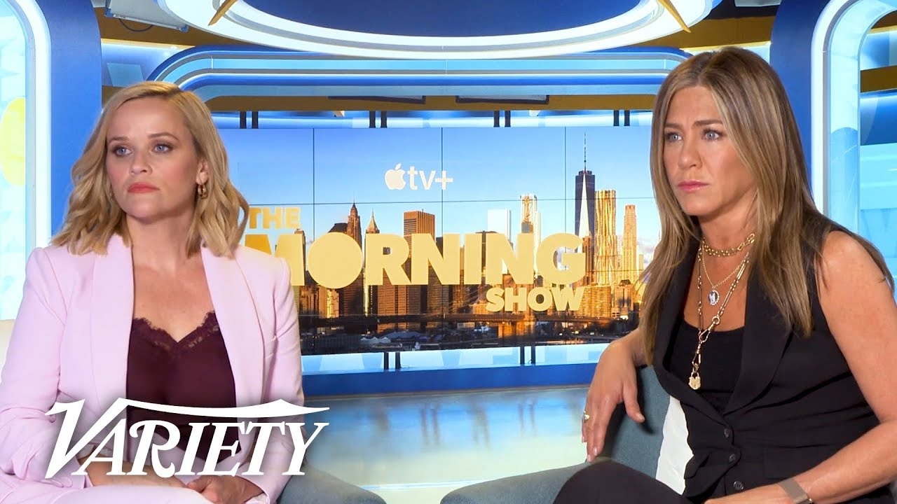 Jennifer Aniston & Reese Witherspoon on What to Expect in 'The Morning Show'