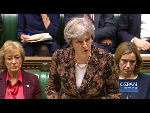 British Prime Minister Theresa May on Nerve Attack on Former Russian Spy (C-SPAN)