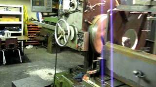 TOS Horizontal Boring Mill W 100 in action