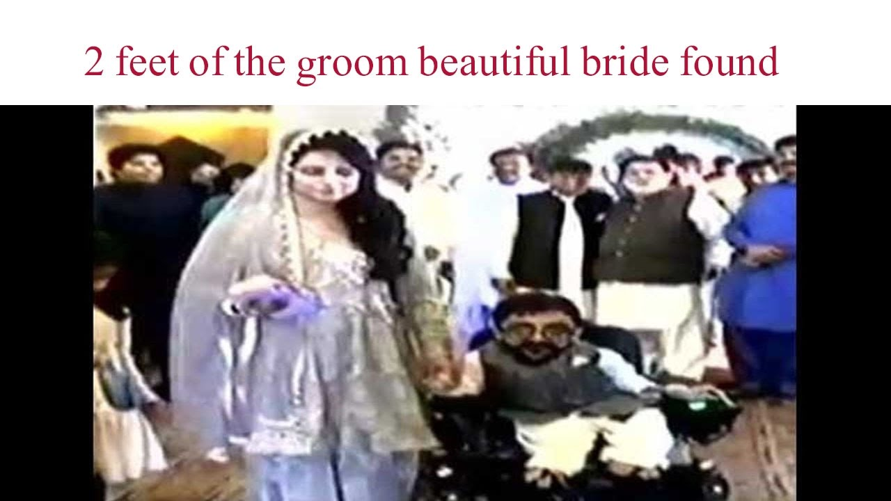 2 Ft Man Marriage With Beautiful Girl Small Man Of The World Happy Latest Married News World News Youtube